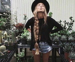 long hair and amazing image