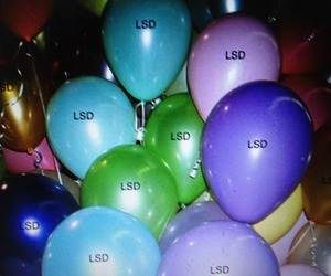 lsd, drugs, and balloons image