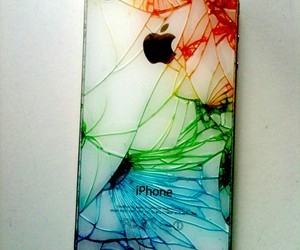 iphone, apple, and colors image
