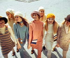 fashion, girls, and sixties image