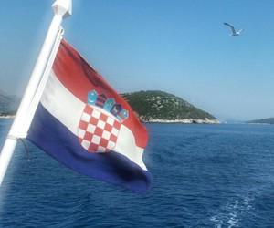 Croatia, europe, and flag image