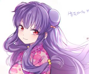 anime, girl, and shampoo image
