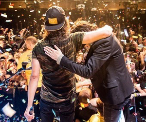 pierce the veil, kellin quinn, and vic fuentes image