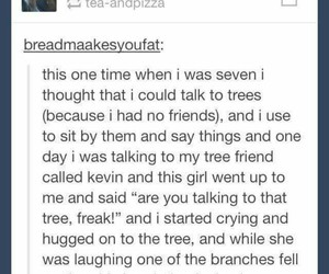 funny, tree, and tumblr image