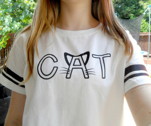 cat, clothes, and tumblr image