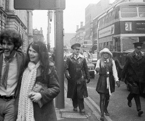 1970s, belfast, and black & white image