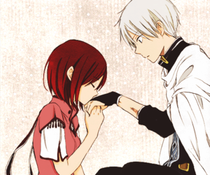 shirayuki, anime, and akagami no shirayukihime image