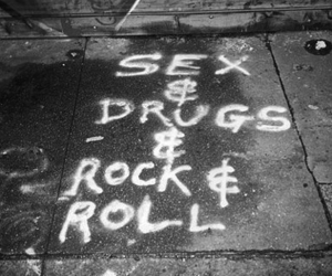 drugs, grunge, and rock n roll image