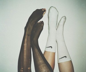grunge, nike, and socks image