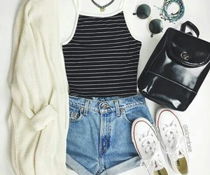 beautiful, casual, and chic image