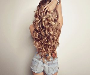 curls, hair, and n image