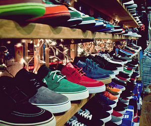 shoes, nike, and vans image