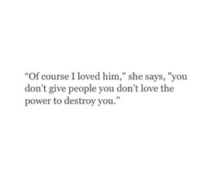quotes, couple, and destroy image