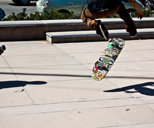 park, sk8, and skate image