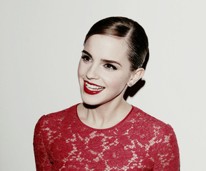 emma watson, red, and harry potter image