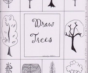 draw and trees image
