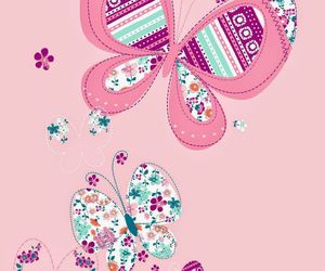 butterflies and wallpaper image