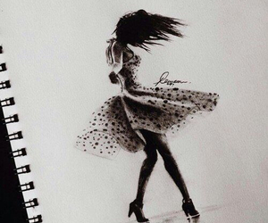 dancer and drawing image