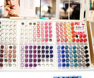 colorful, makeup, and nailpolishes image