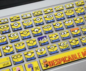 minions and keyboard image