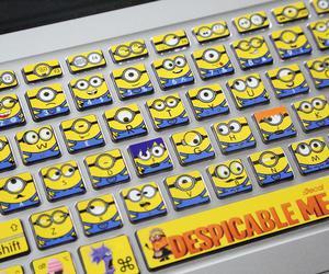 minions and keyboard image