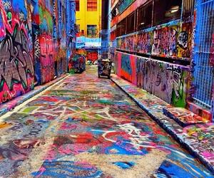 art, australia, and graffiti image