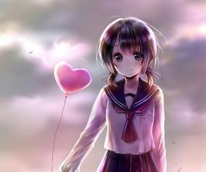 anime, girl, and kawai image