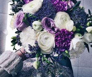 beautiful, bouquet, and pretty image