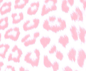 pink, wallpaper, and leopard image