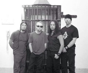 James Hetfield, lars ulrich, and metallica image