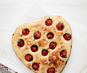 heart and focaccia image