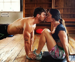 couple, happy, and Hot image
