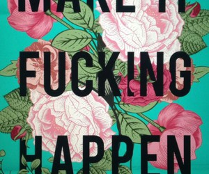 quote, wallpaper, and flowers image