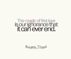 quote, love, and first love image