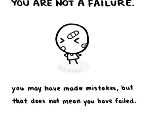 stay calm, its okay, and you are not a failure image