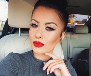 make up, beauty, and hair image