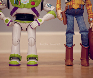 toy story, woody, and disney image
