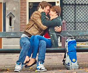 couple, the fault in our stars, and tfios image