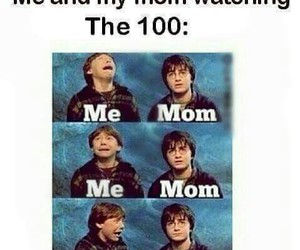 funny, the 100, and meme image