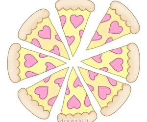 pizza and overlay image