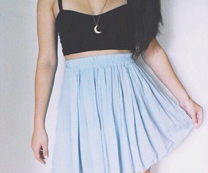 skirt, fashion, and outfit image