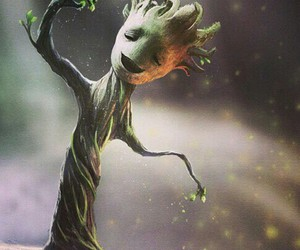 groot, Marvel, and tree image