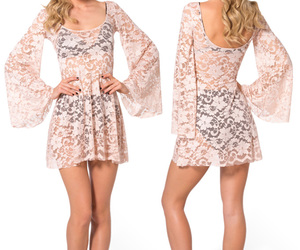 beachwear, lace dress, and cover-up image