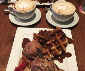 chocolate, coffee, and dessert image