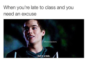 dylan, excuse, and funny image