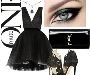 dinner, dress, and fashion image
