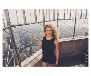 beautiful, empire state building, and music image