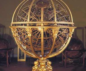 astronomy, globe, and gold image