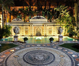 Versace, mansion, and house image