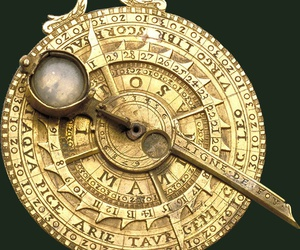 astronomy, gold, and instrument image
